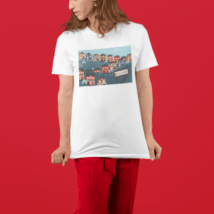Bellevue Mural Unisex Ultra Cotton Tee