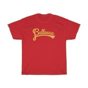 Bellevue Hand Script Heavy-Cotton T-shirt