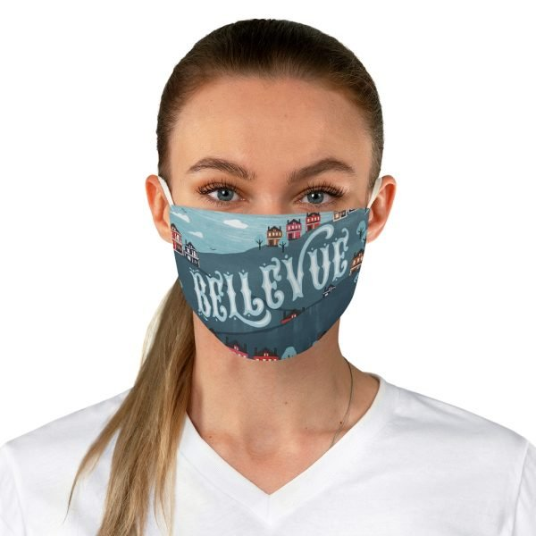 Bellevue Type Fabric Face Mask